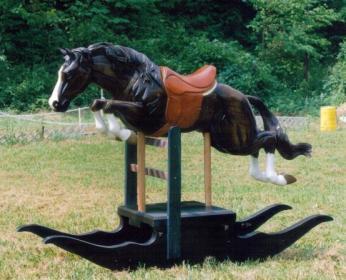 Rocking horse jumper