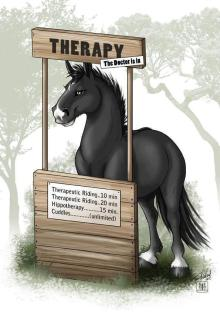 Horses at therapy