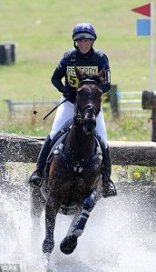 Zara Phillips eventing