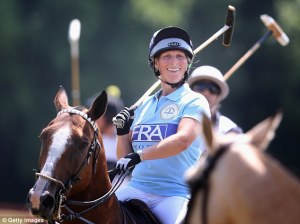 Zara Phillips Polo