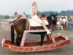 rocking horse costume