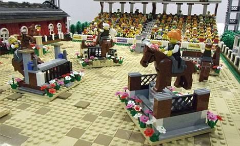 Horse legos