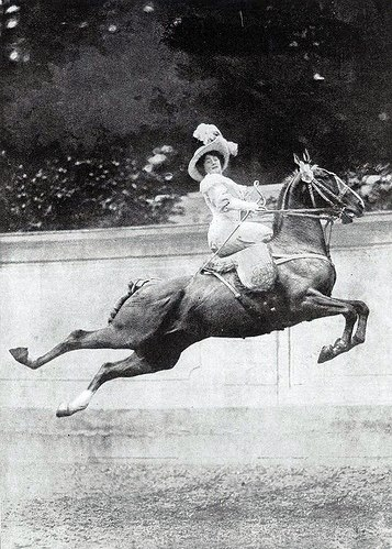 """May we all have as much fun as this lady, even if it might not include airs above the ground! On this beautiful early summer day, all I can say is, """"ride more""""!"""
