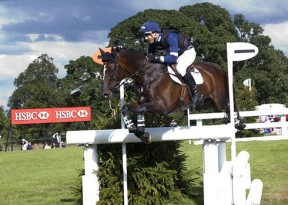 Jock Paget and Clifton Promise at Burghley in 2013.