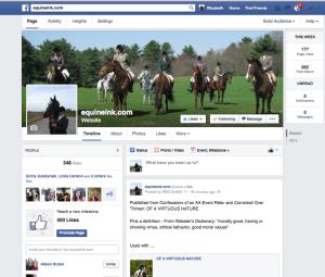 Equine Ink on Facebook