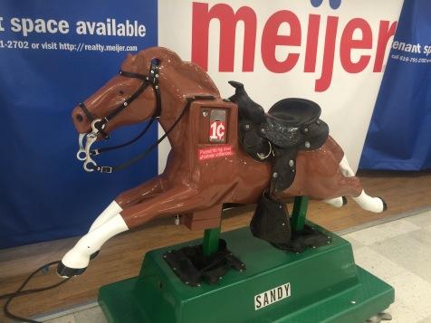 Mechanical pony