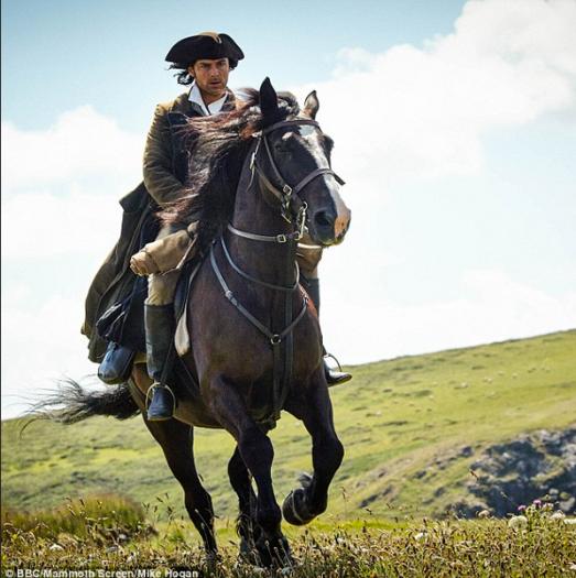 Aiden Turner riding Seamus