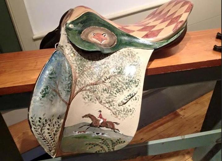 Painted saddle