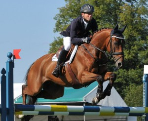 Michael Jung wins Burghley