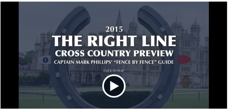 2015 Burghley Cross Country