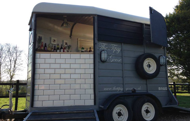 Trailers Converted To Food Trucks