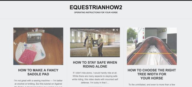 EquestrianHow2