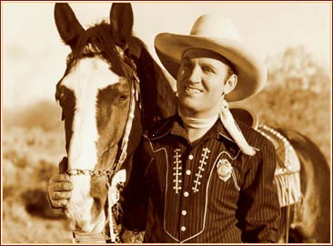 Gene Autry and Champ