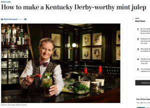 Derby Worthy Mint Julep