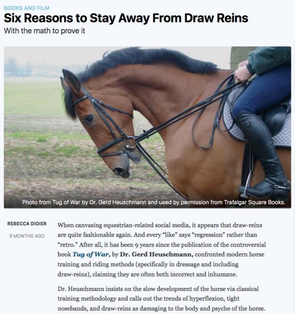 Draw reins