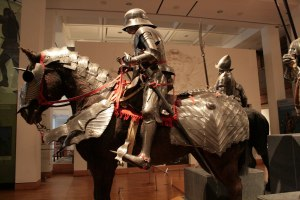 Medieval horse armor