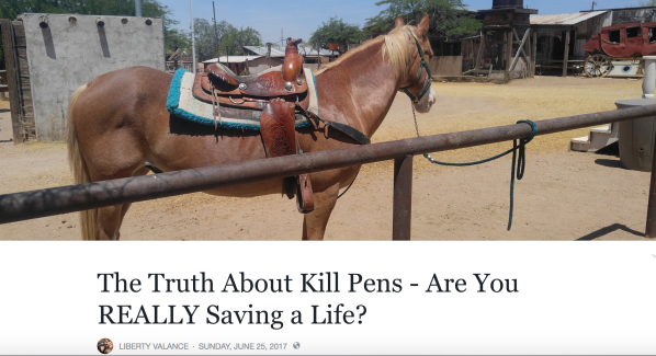 The Truth about Kill Pens