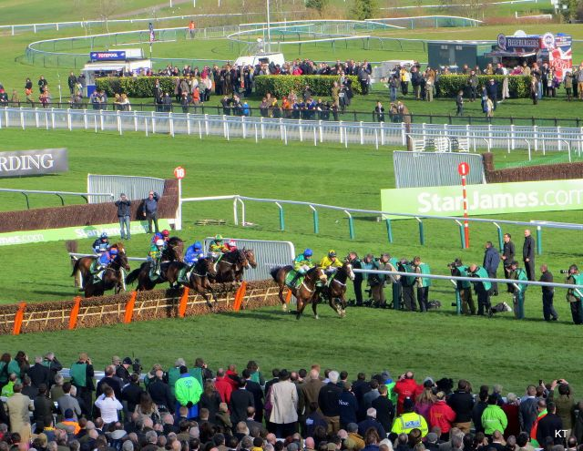 The Championship Hurdle at Cheltenham
