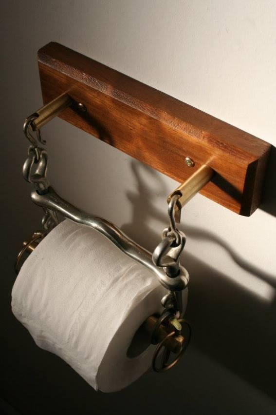 Bit Toilet Paper Holder