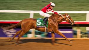 Gun Runner wins Breeders' Cup