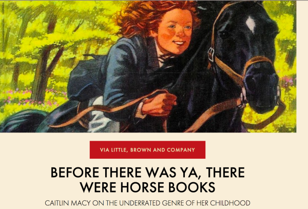 For the love of horse books