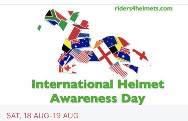 International Helmet Awareness Day