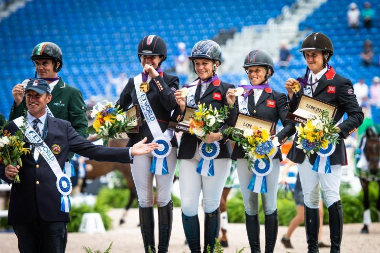 British Team wins Eventing Gold