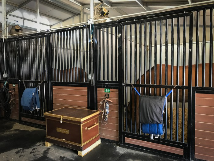 Stalls at Tyron International Equestrian Center
