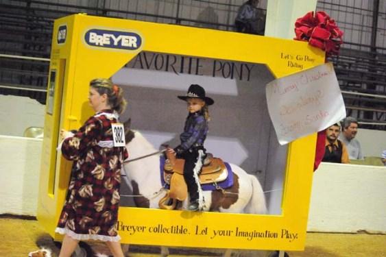 Breyer horse costume