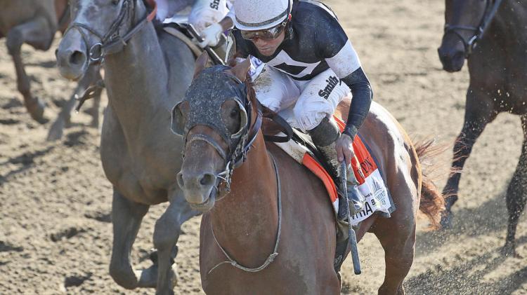 Sir Winston wins Belmont