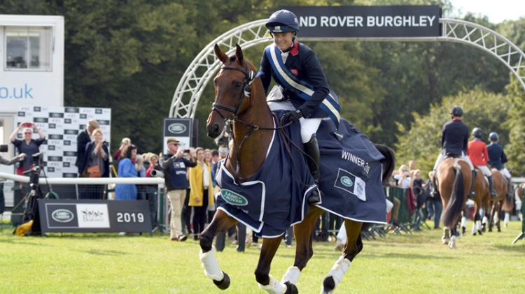 Pippa Funnel Wins Burghley