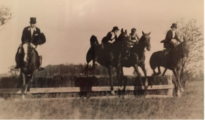Foxhunting in 1927